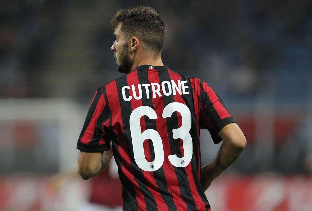 Milan AC : un club italien se positionne sur Cutrone