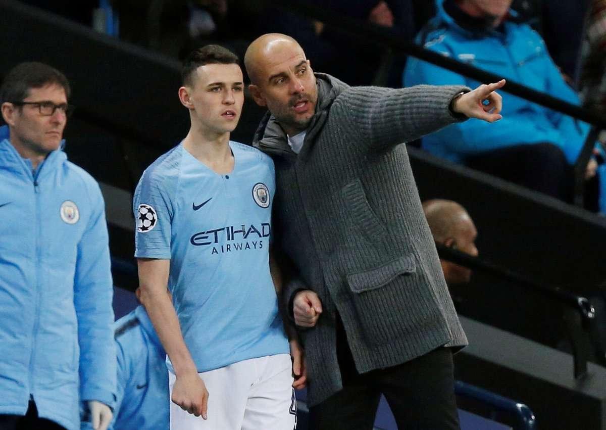 Manchester City : Guardiola encense Sané et Phoden