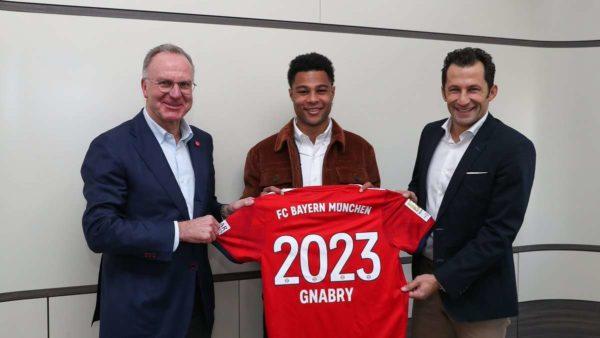 Officiel : Gnabry rempile avec le Bayern