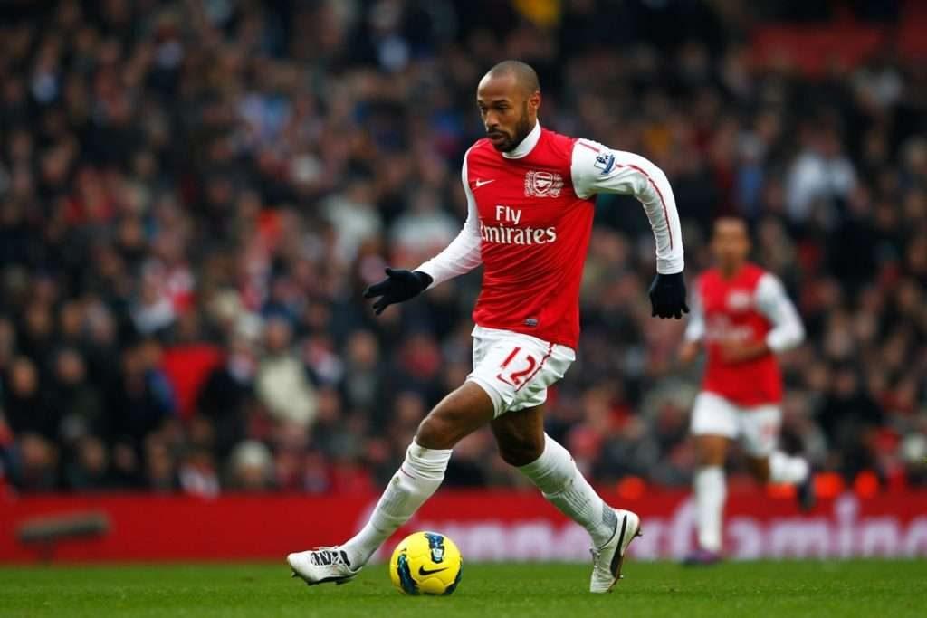 Thierry Henry nommé meilleur joueur étranger de l'histoire de la Premier League