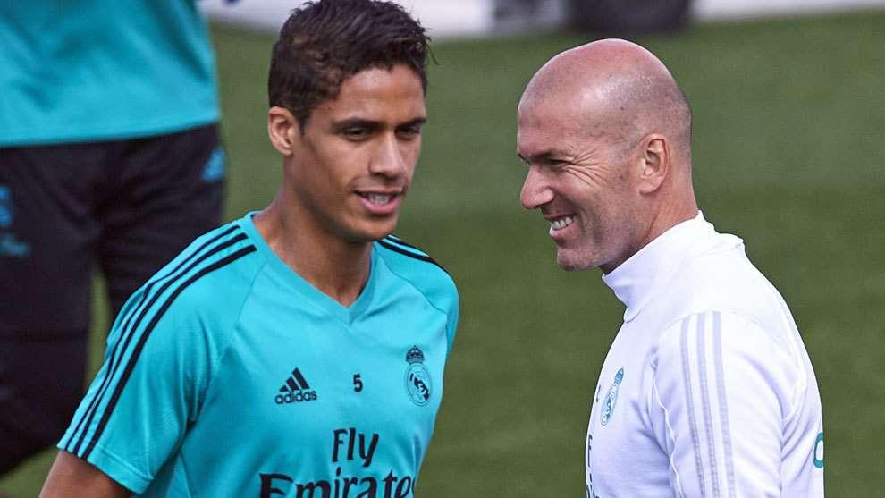 Au tour de Varane d'évoquer le retour de Zidane