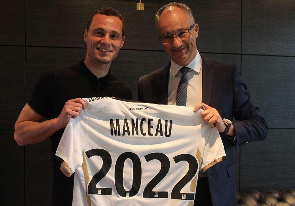 Officiel : Vincent Manceau prolonge à Angers