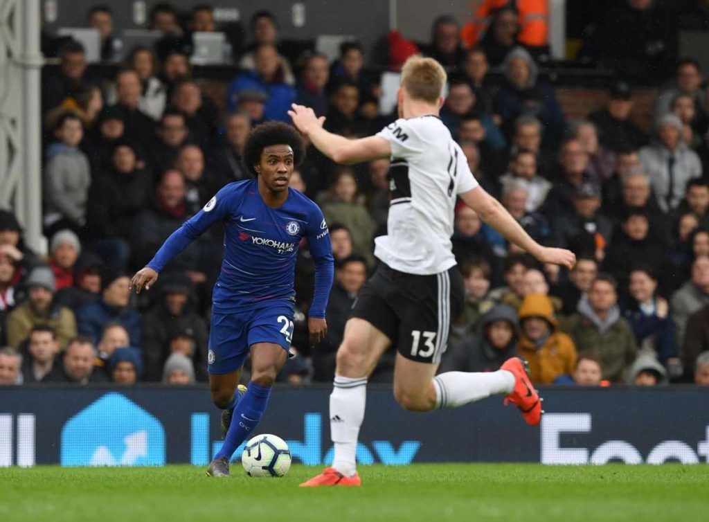 Willian se sent bien à Chelsea