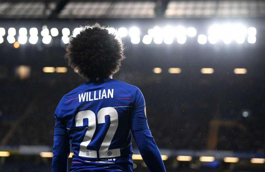 Chelsea : Willian intéresse toujours le Barça