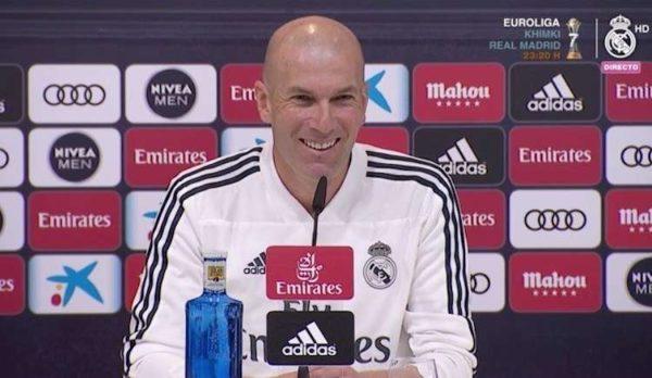 Zinédine Zidane évoque sa nouvelle recrue et…Mbappé
