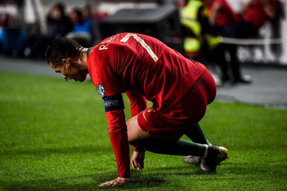 Portugal-Juventus : Ronaldo pas inquiet après sa blessure