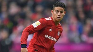 Le Real Madrid fixe le prix de James Rodriguez