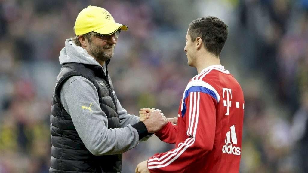 Lewandowski se confie sur Jurgen Klopp
