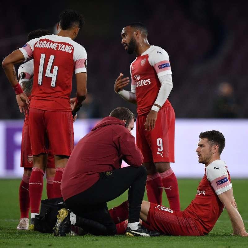 Naples-Arsenal : Aaron Ramsey a-t-il disputé son dernier match avec les Gunners hier ?