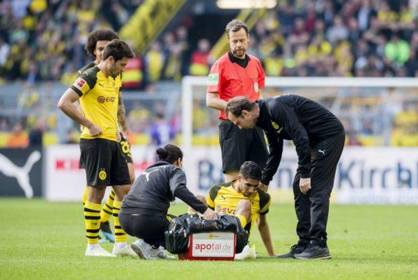 Dortmund : coup dur pour Hakimi et Diallo
