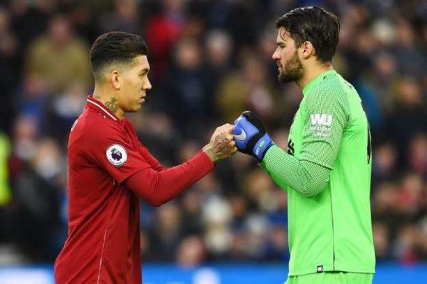 Liverpool peut remercier Firmino pour le recrutement d'Alisson Becker