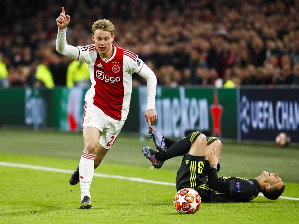 Ajax : Frenkie de Jong se livre sur Tottenham et son avenir au Barça
