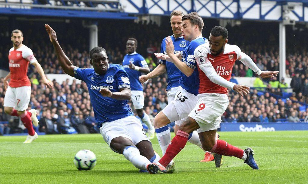 Kurt Zouma se sent bien à Everton !