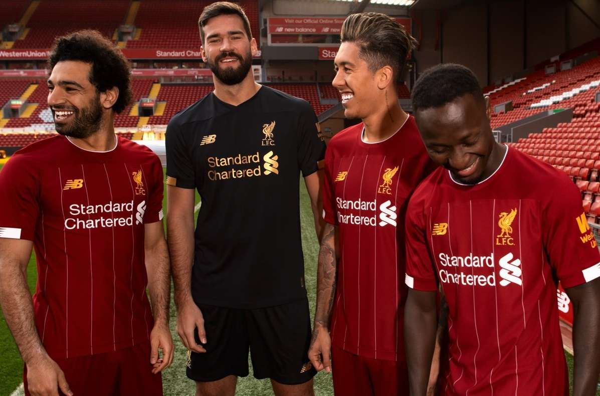 Liverpool : le maillot home 2019/2020 dévoilé - Transfert Foot Mercato