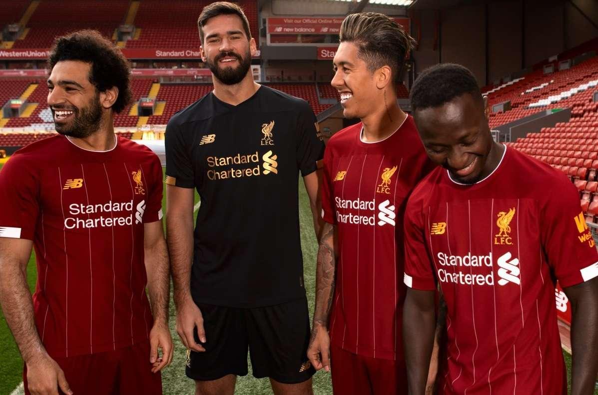 Liverpool : le maillot home 2019/2020 dévoilé