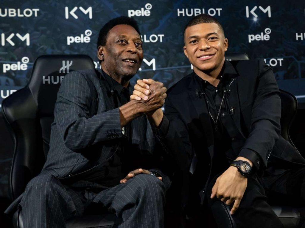 Quand le roi Pelé donne des conseils au prince Mbappé