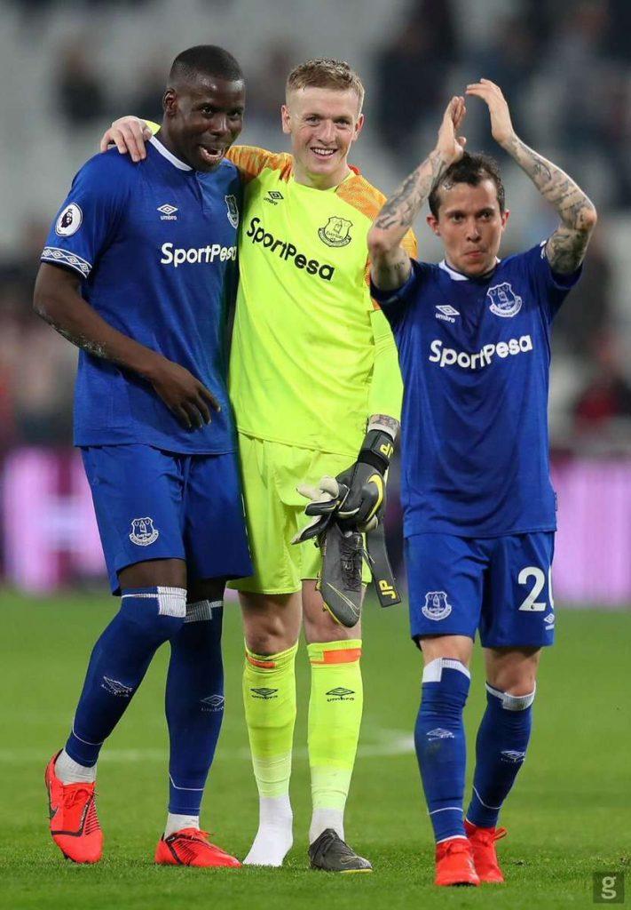 Everton : Jordan Pickford filmé en train de se battre devant un bar