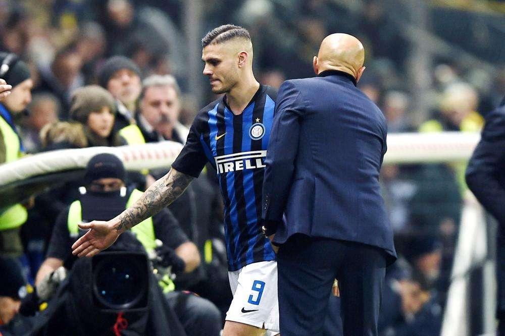 Inter Milan : Luciano Spalletti fustige le comportement de Mauro Icardi