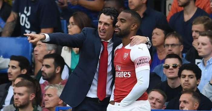 Arsenal : Unai Emery est sûr que Lacazette reviendra en équipe de France
