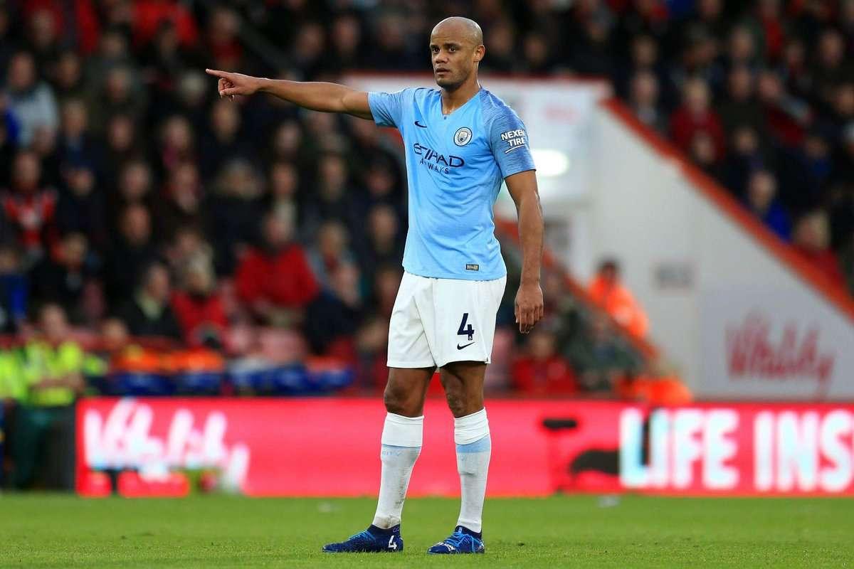 Manchester City : Vincent Kompany confiant pour sa prolongation