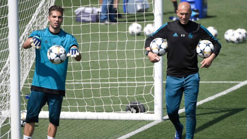 Zinédine Zidane explique pourquoi il a titularisé son fils Luca