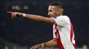 Ajax : Ziyech intéresse plusieurs cadors anglais