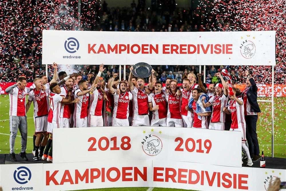 L'Ajax, une équipe de champions !