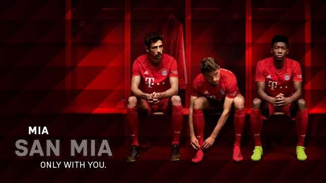 Bayern Munich : le maillot domicile 2019/2020 dévoilé