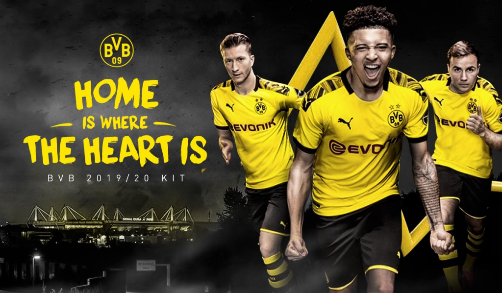Dortmund : le maillot domicile 2019/2020 dévoilé