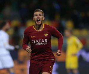Roma : Edin Dzeko rempile à la surprise générale