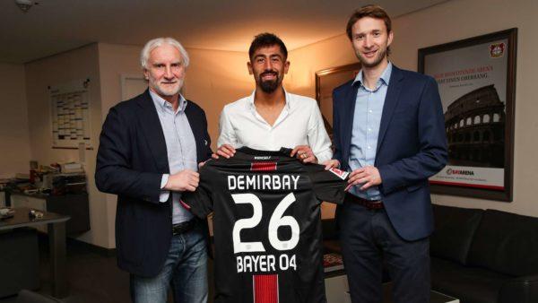 Officiel : Kerem Demirbay signe au Bayer Leverkusen