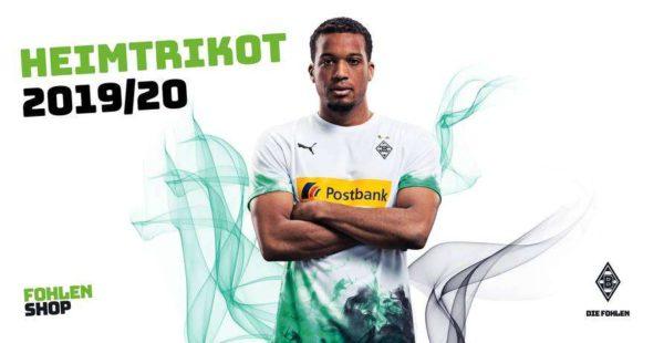 Borussia Monchengladbach : le maillot domicile 2019/2020 dévoilé