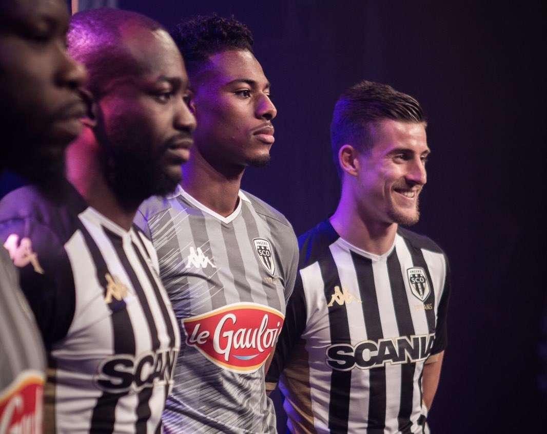 SCO Angers : les maillots 19/20 dévoilés