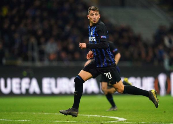 L'Inter Milan veut blinder sa pépite