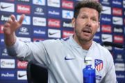 Divorce en vue entre l'Atletico Madrid en Diego Simeone ?