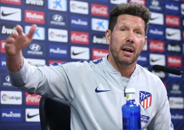 Divorce en vue entre l'Atletico Madrid en Diego Simeone ?
