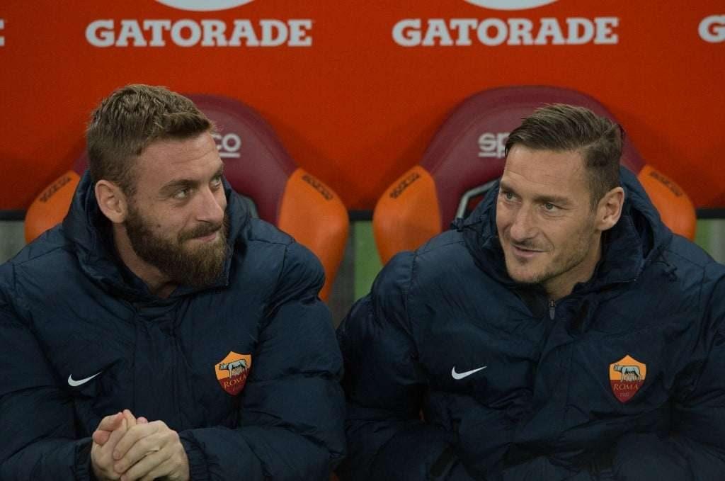 AS Rome : le message émouvant de Francesco Totti à Daniele De Rossi