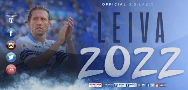 La Lazio prolonge Leiva et signe un jeune ailier