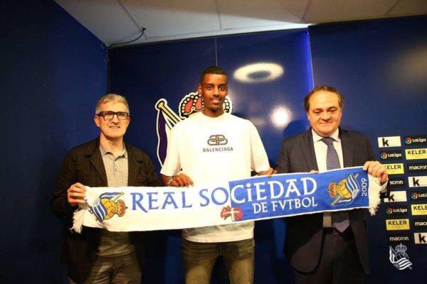 Real Sociedad : c'est officiel pour Alexander Isak