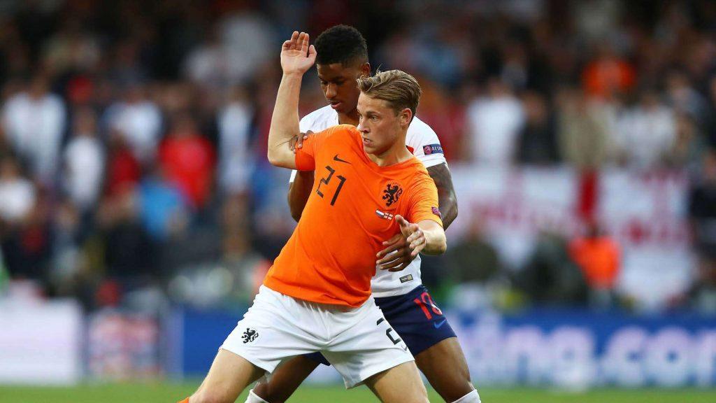 Frenkie de Jong veut jouer avec Matthijs de Ligt au Barça