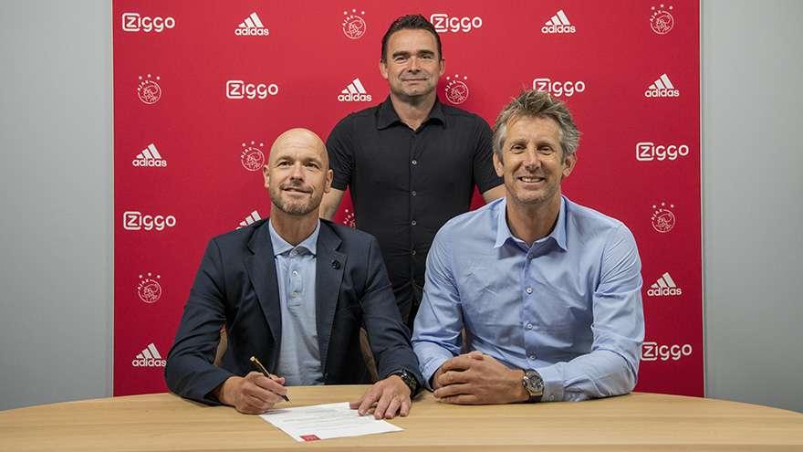 Officiel : Erik ten Hag prolonge avec l'Ajax