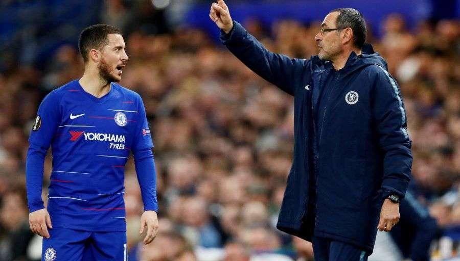 Chelsea bloque le départ de Maurizio Sarri et s'apprête à perdre Hazard