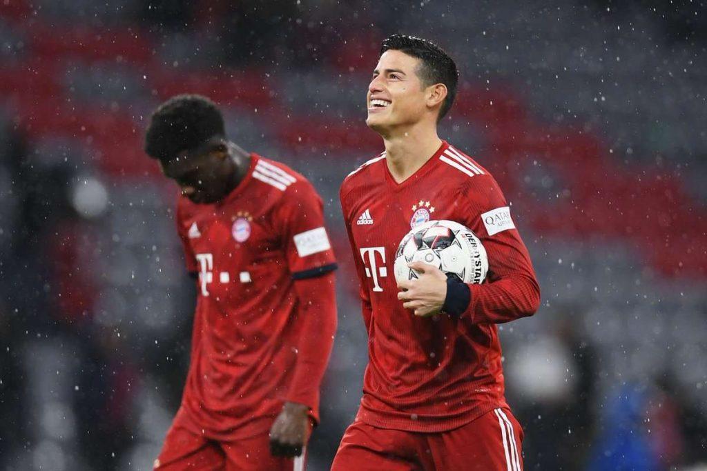 Bayern Munich : les adieux de James Rodriguez