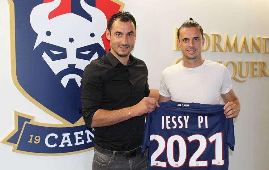 Officiel : Jessy Pi rejoint le SM Caen