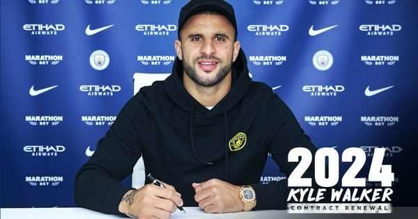 Officiel : Kyle Walker signe un nouveau contrat avec Manchester City