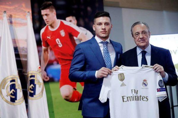Luka Jovic s'éloigne du Real Madrid