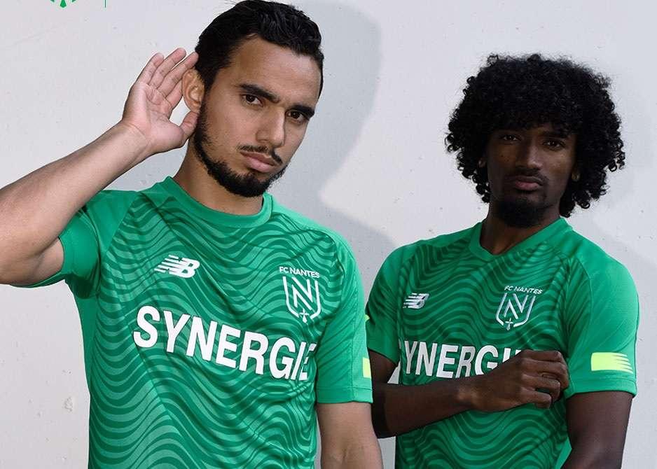 FC Nantes : le maillot extérieur 2019/2020 dévoilé