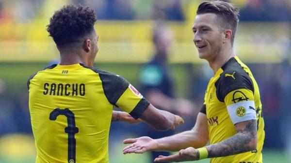 Bundesliga : Marcos Reus et Jadon Sancho plébiscités