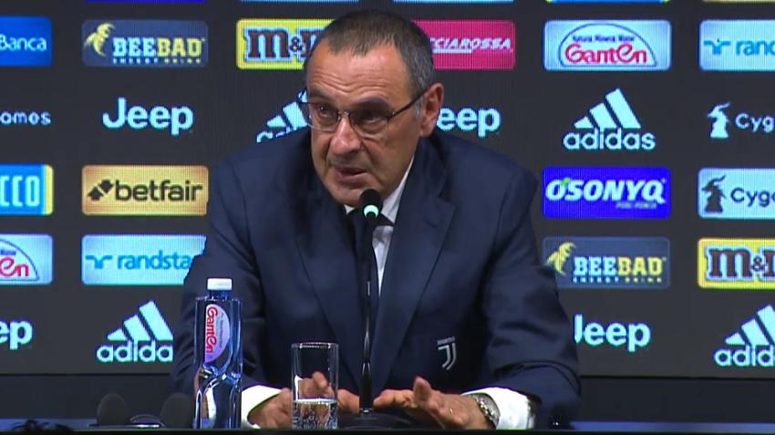 Juventus : les premiers mots de Maurizio Sarri