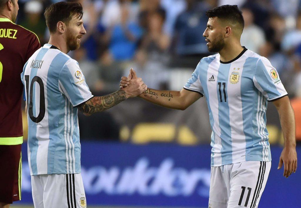 Argentine : Sergio Aguero veut aider Messi à remporter son premier trophée en sélection